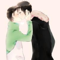kiss by mikadokyun