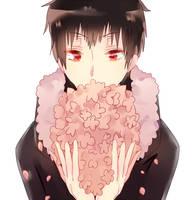 flowers by mikadokyun