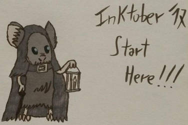 Inktober 2017: day 01 (Swift) by shadowtheater