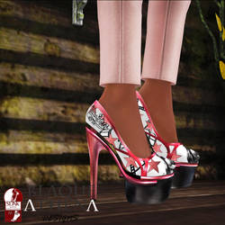 BAD - 20160715 shoes by justcallmeque