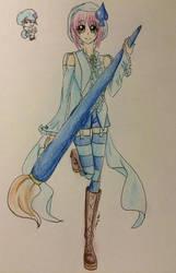 amulet spade by prettycure97