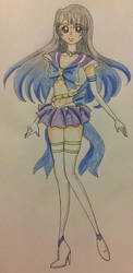 Sailor Ice Comet by prettycure97