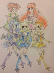 New PCNLA by prettycure97