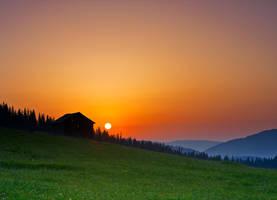 Sunrise in Bukovina by lica20