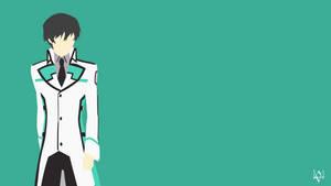 Shiba Tatsuya (Mahouka) Minimalist Anime Wallpaper by Lucifer012