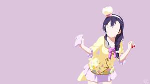 Nozomi Tojo   Love Live Minimalist Anime by Lucifer012