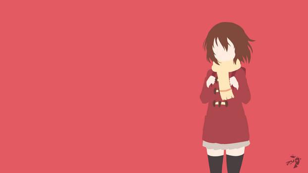 Kayo Hinazuki   Erased Minimalist Anime by Lucifer012