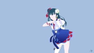 Yoshiko Tsushima | Love Live Sunshine Minimalist by Lucifer012