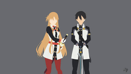 Sword Art Online Movie : Ordinal Scale Minimalist by Lucifer012