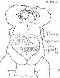 Happy Valentines day 06 by bigwolfbebad