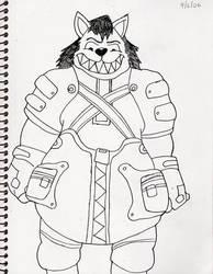 Kingdom Hearts II...Wolfgang by bigwolfbebad