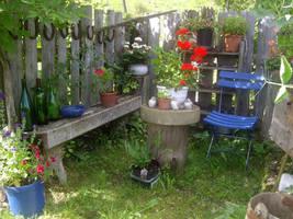 Summer garden by Camilla91