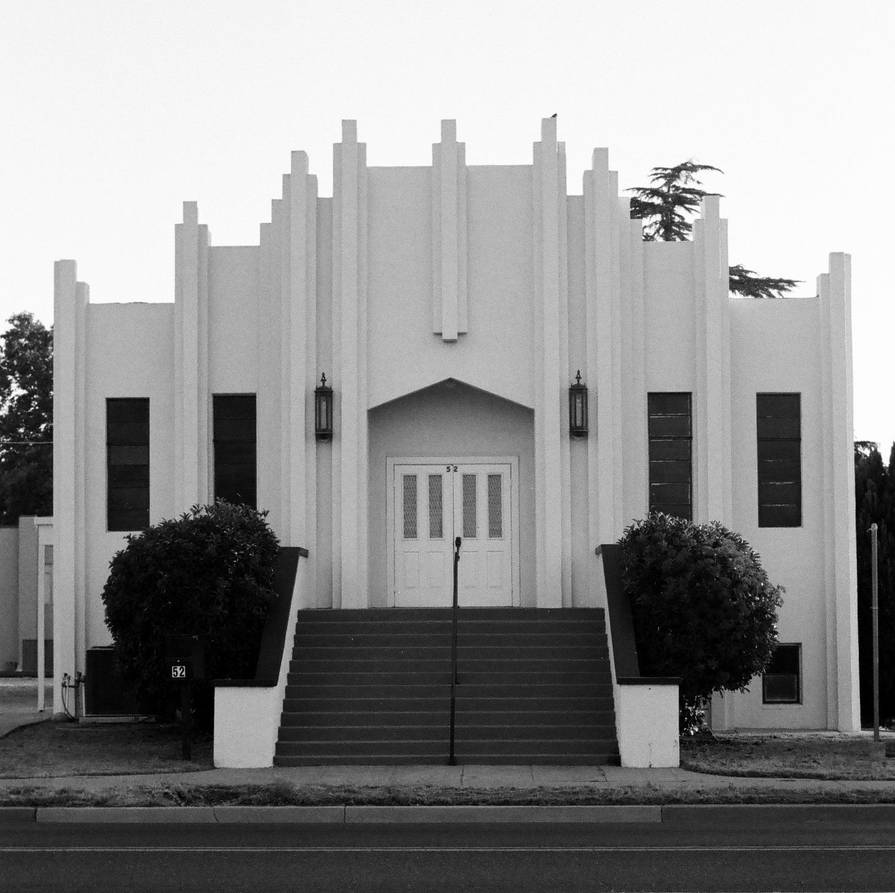 Art Deco Church by AureliusWalker