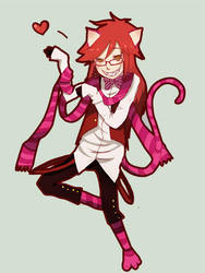 Chesire Grell by ChocoHal