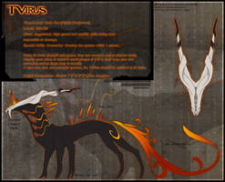 T-Virus Reference Sheet by Dachindae