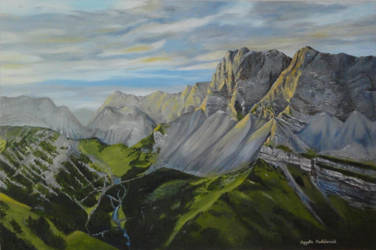 Alpine Morning by angelahedderick