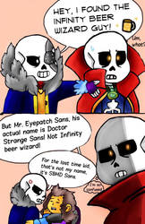 The Infinity beer wizard guy by miller7751