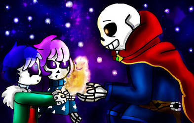 Doctor Strange Sans and the StarGhosts by miller7751