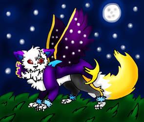 Cat Lunala!Sans by miller7751