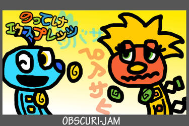Obscuri-JAM - Asahi and Tsubasa from Explet's by LizBAP64