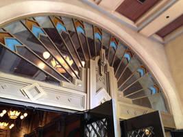Hollywood Tower Hotel Door by Gypsy--Princess