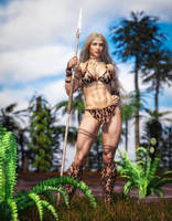 Cavewoman Lu by Superstrongbabes