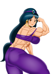 Muscular Jasmine by Superstrongbabes