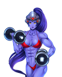 Widowmaker workout by Superstrongbabes