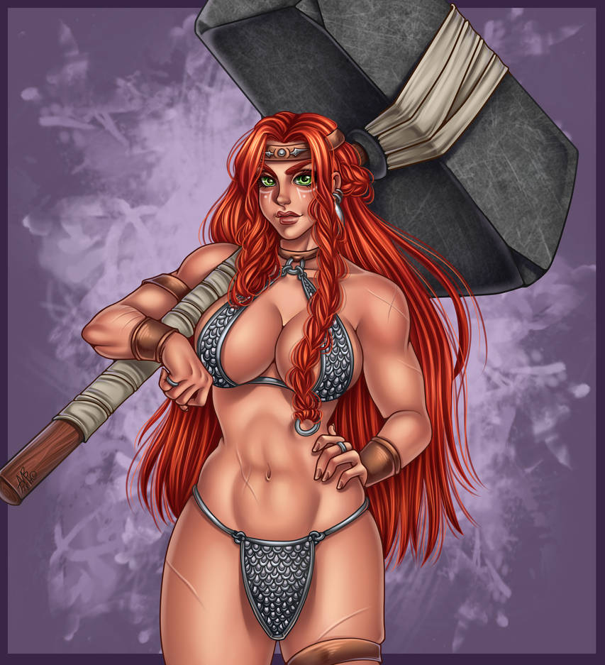 Warrior girl by Superstrongbabes