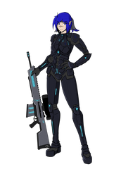 Sci-fi Reka by sorenshadow