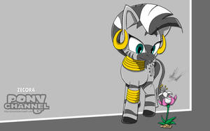 Channel Sketch: Zecora by Fuzon-S