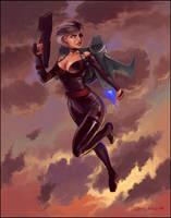 Rocket Girl by orgo