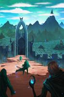 Maze Gate by DaisanART