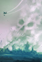 daily speedpaint 99 - attack from above by DaisanART