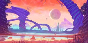alien enviro concept by DaisanART