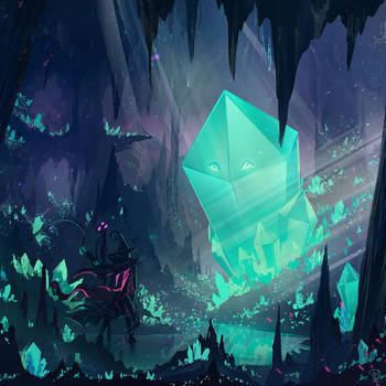 Crystal cave - cover by DaisanART