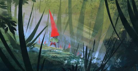 Living garden gnome by DaisanART