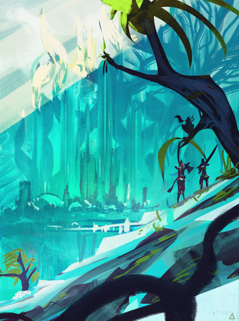Fairytale castle by DaisanART