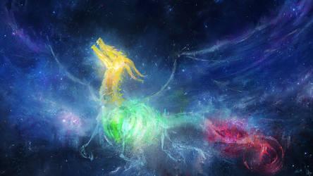 Worlds in Dragon's Skeleton by DaisanART