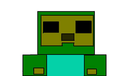 Minecraft Zombie by BubblesLuvr300