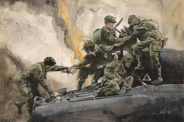 Band of Brothers by RobHough