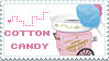Cotton Candy is love Stamp by CheesecakeStamps