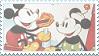 Old Skool Disney fan Stamp by CheesecakeStamps