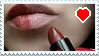 Love My Lips Stamp by CheesecakeStamps