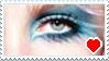 Pretty Eyeshadow Stamp by CheesecakeStamps