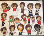 Different Art Styles by Riyana2