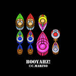 SUPER MARIO BOOYAHZ POP ART PRINT by CORY-MARINO