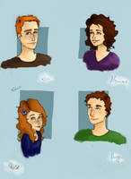 Weasley family by Elderberry-bb