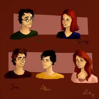 Potter family. by Elderberry-bb