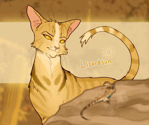 gov assigned warrior cat by TRUNSWICKED